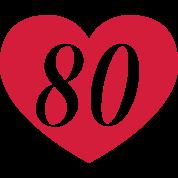 kort til 80 års fødselsdag